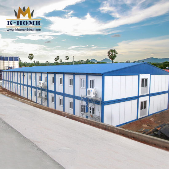 Mobile Site Office Prefab Labor Camp Prefabricated Container House