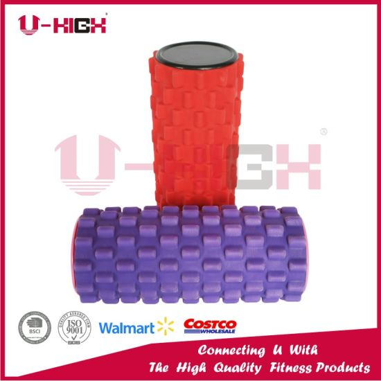 High Density Texture EVA Foam Roller New Style 2018 Fitness Equipment pictures & photos