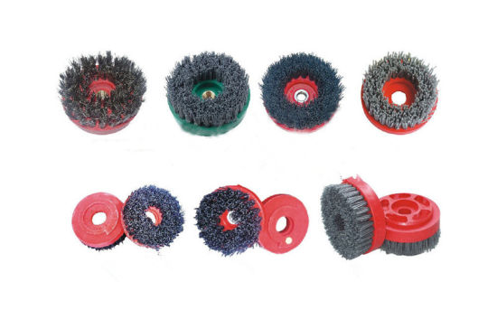 Frankurt Stone Grinding Brushes Steel Grinding Brushes for Concrete pictures & photos