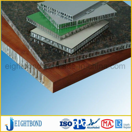 Decorative Wood Grain Aluminum Honeycomb Panel for External Cladding pictures & photos