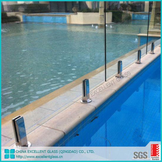 China High Quality Glass Swimming Pool Walls 12mm 10mm 8mm ...