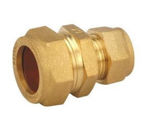 Brass Pneumatic Compression Fittings for Copper Tubes pictures & photos