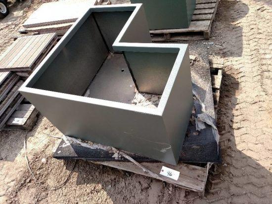 Aluminum Flower Pot/ Plant Pot/ Planter/ Home Decor Wall Dividers