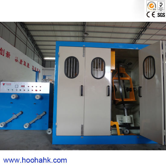Full-Auto Physical Foaming Cable Wire Extruder Machine pictures & photos