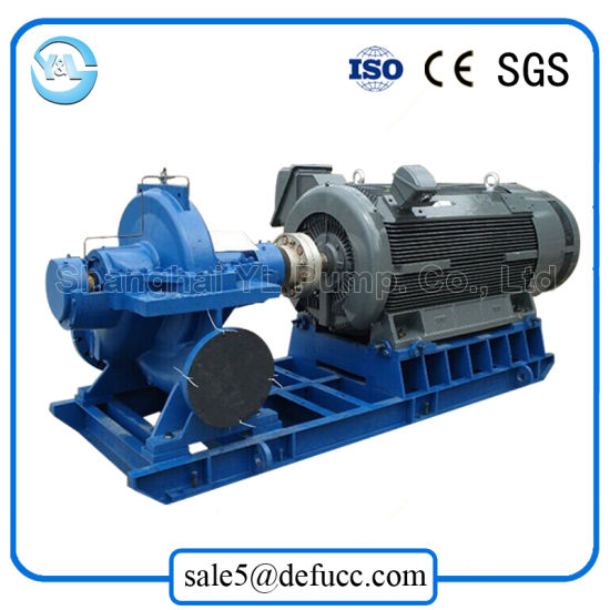 Horizontal Motor-Driven Double Suction Flood Water Pump pictures & photos
