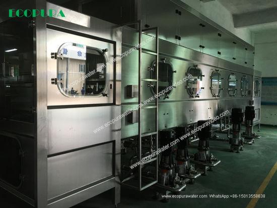 18.9L Complete Water Filling Line / 5 Gallon Bottling Machine
