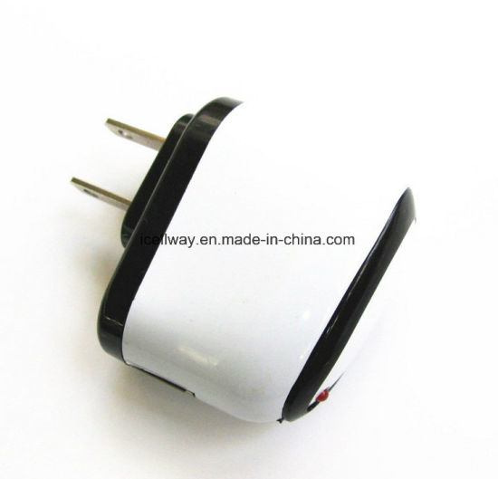 Single USB Travel/Home Wall Charger Us/EU Plug for Samsung/iPhone 7/iPad with Ce Certification pictures & photos