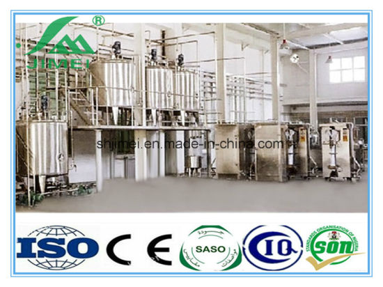 Turn Key High Quality Complete Full Automatic Milk Yogurt Dairy Complete Production Line Milk Yogurt Dairy Complete Production Line pictures & photos