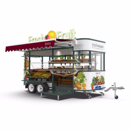 Jekeen High Quality Electric Food Truck of Fruit and Vegetable Car - Rosen