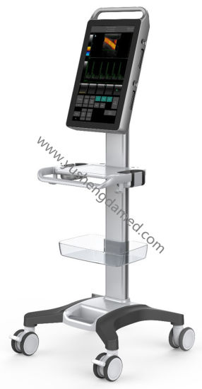 Ysd528 Full Touch Screen Trolley Color Doppler Digital Ultrasound pictures & photos
