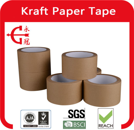 Chinese Manufacturers Direct Marketing Kraft Tape - 9 pictures & photos