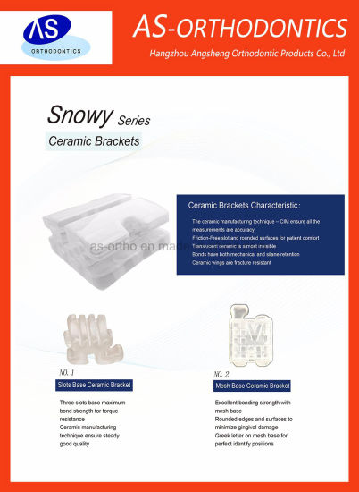 as-Orthodontic Manufacturer Ceramic Brackets pictures & photos