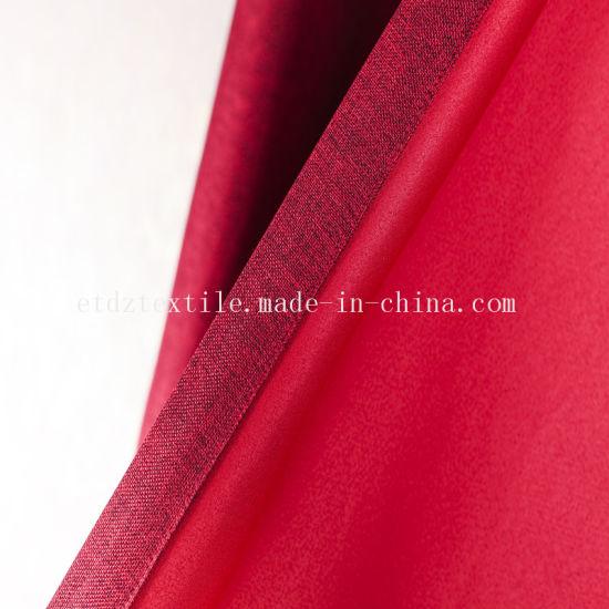 Canton Fair 2018 Linen Like Blackout Window Fabric Curtain