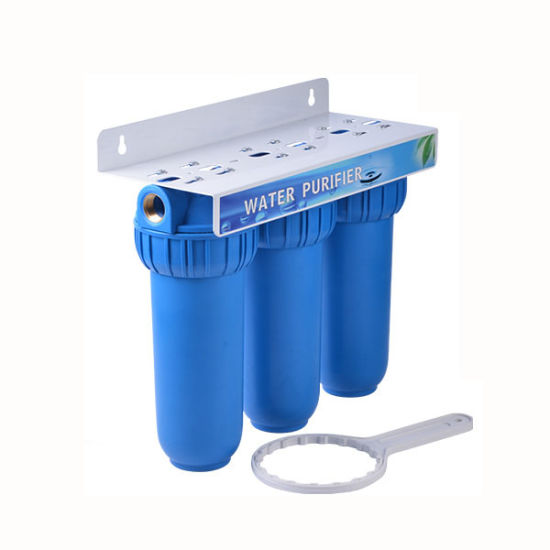 3 Stage Home Use Pipe Connect Water Filter pictures & photos