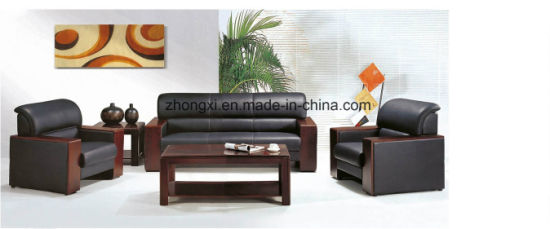 china high end comfortable wooden arms lounge leather modern sofa