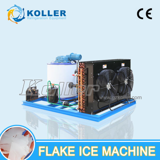 Koller 1ton Flake Ice Machinie, Commercial Use Ice Maker, for Fishery/Meat Factory pictures & photos