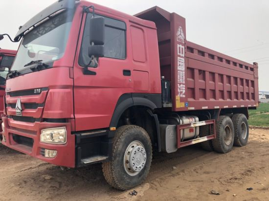 Wholesale Hot Sales 10 Wheels Used Sinotruck Used Tipping Truck HOWO 6X4 Dump Truck with 30 Ton Capacity with Direct Dealer