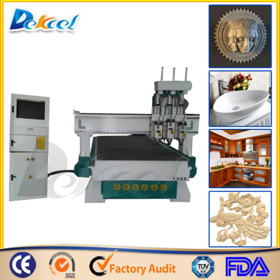 China Cnc Three Processing Wood Furniture Engraving Cutting Router