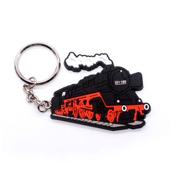 Promotion Customized Motorcycle EVA Key Chain Holder Tie Clips Alphabet Custom Logo pictures & photos