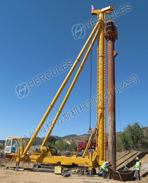 Vibratory Driver 24m Sand / Stone Piling Machine pictures & photos