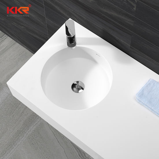 China Bathroom Countertops With Built In Corian Sinks