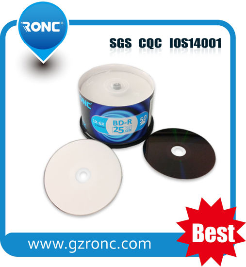 photograph relating to Printable Blu Ray Discs identified as China 25GB Printable Blu Ray Disc 1X-6X Wholesale - China