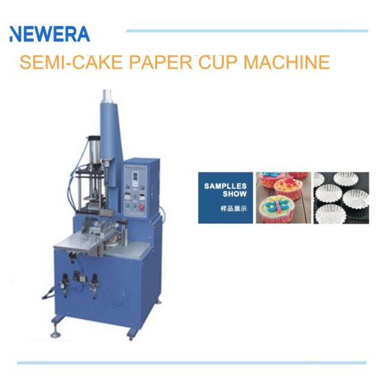 Semi-Automatic Pneumatic Disposable Paper Cake Cup Tray Forming Machine