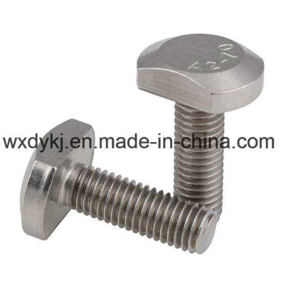 Stainless Steel 304 T Style Head Bolt pictures & photos