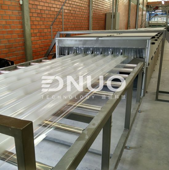 FRP Plastic Tile Making Machine