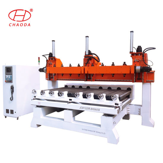 5 Axis Jcw1325r-8h Rotary Wood CNC Router for Sofa Leg pictures & photos