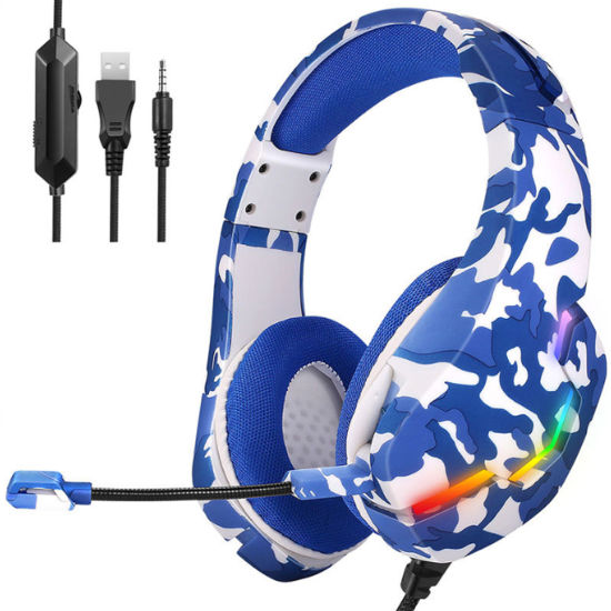 Best Noise-Canceling Gaming Headsets Custom Logo Wired Gaming Headphones for Computer