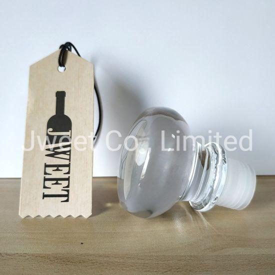 Glass Bottle Stoppers Caps for Liquor Spirit Bottles
