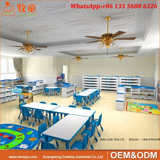 Kindergarten Play School Classroom Furniture Used Preschool Tables and Chairs & China Kindergarten Play School Classroom Furniture Used Preschool ...