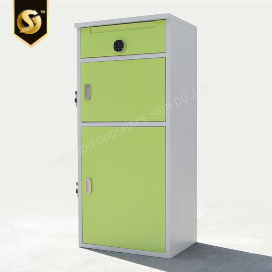 China Pb 03 Metal Floor Standing Mailbox With Post Lock For Office Home Depot China Mailbox Mailbox Home Depot