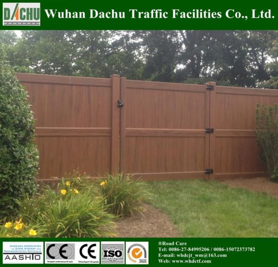 International Acceptable Poly Vinyl Chloride Fence