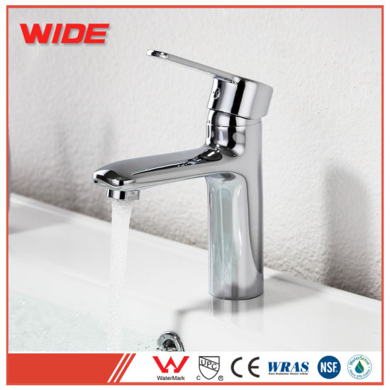 China Hot Sale Sanitary Ware Deck Mounted Basin Faucet for Promotion ...