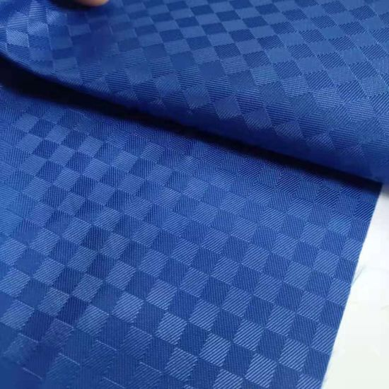 Anti Slip PVC/Silicone Gel Dotted Coated Polyester Gabardine Fabric for Slipper
