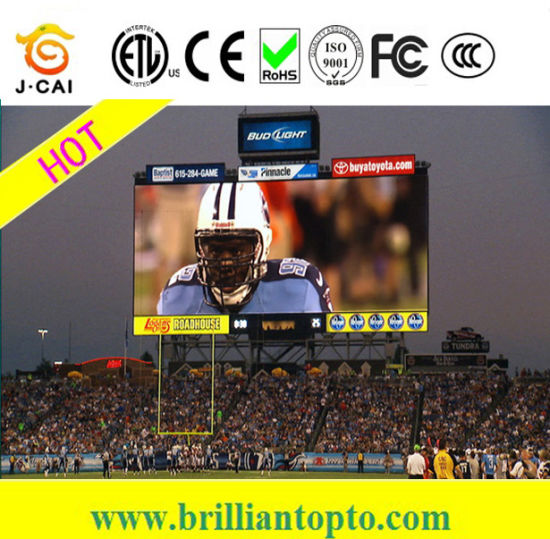Outdoor Stadium Sports Advertising P10 LED Screen pictures & photos