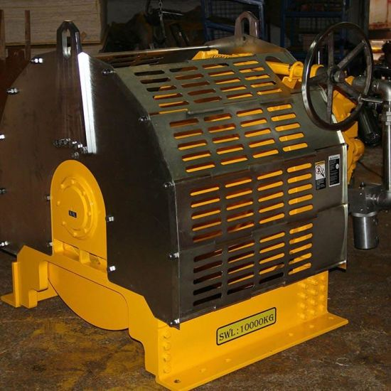 5t/50kn Ship Hatch Cover Air Winch, Pneumatic Winch for Pulling and Lifting