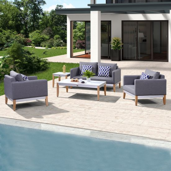 Wholesale Office Style Garden Furniture Outdoor Sofa (accept customized)