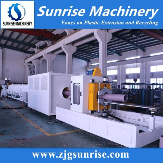 Plastic PVC Pipe Extrusion Line HDPE Pipe Production Line