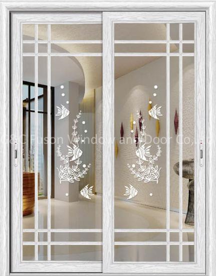 New Design Hot Modern Aluminium Interior Hanging Sliding Doors