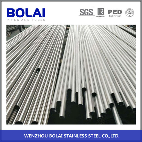 304/316 ASTM312 Sanitary Pipe Cold Rolled Seamless Stainless Steel Pipe