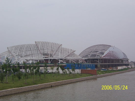 Steel Structure Cinema with Good Maintenance Material (SS-573)