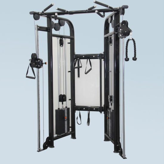 Fitness Equipment Gym Exercise Machine for Dual Adjustable Pulley (FM-1002)