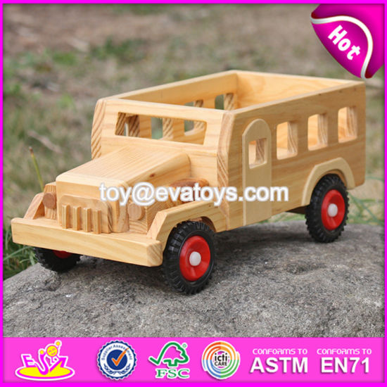 Small Toys Solid Wooden Toy Cars