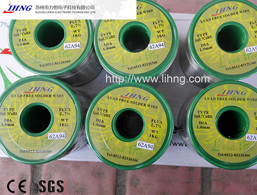 SGS/Ce Best Lead Free Solder Wire Welding Wire (tin wire) pictures & photos