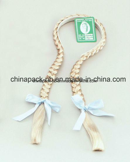 Fancy Dress Bendable Plaits on a Headband (CPPH_021)
