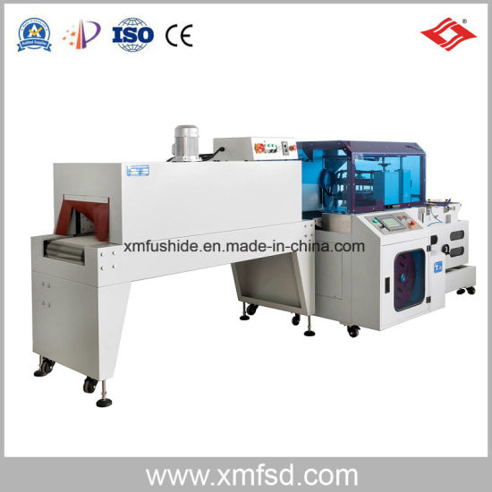 Automatic L Sealer Paper Plate Shrink Packing Machine