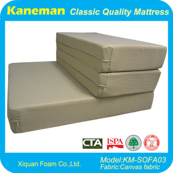 Simple 3 Folding Foam Mattress-Foam Mattress-Gym Mattress-Mattress